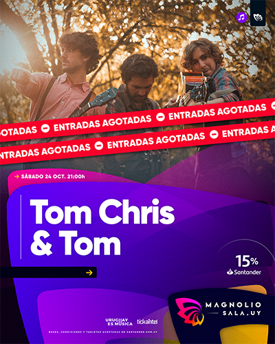 Tom Chris & Tom - - en Magnolio Sala