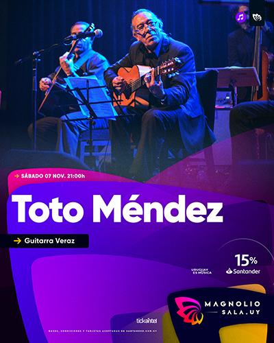 Toto Méndez - Guitarra Veraz en Magnolio Sala