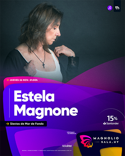Estela Magnone - Siestas de Mar de Fondo en Magnolio Sala