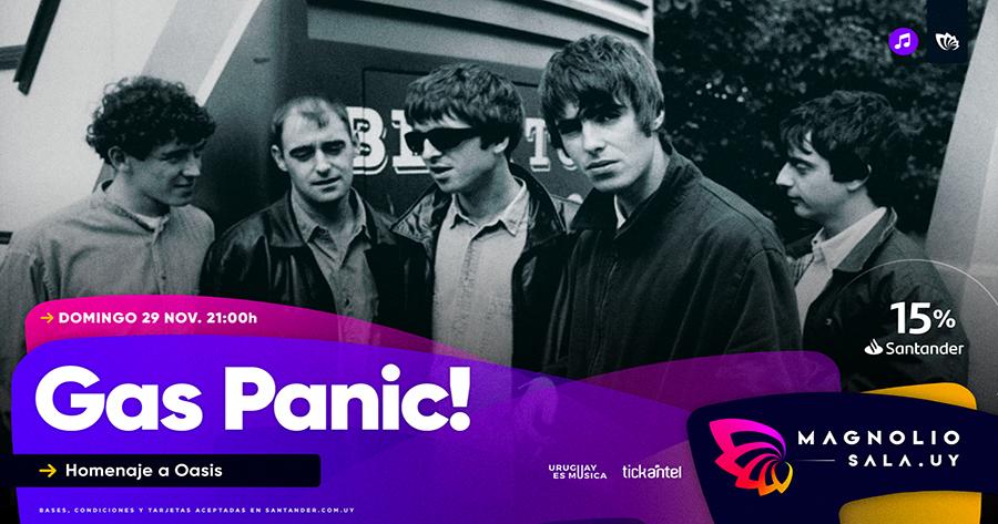 Gas Panic! - Homenaje a Oasis en Magnolio Sala