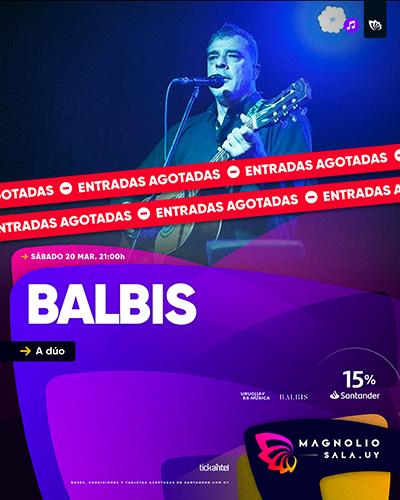 BALBIS - A dúo en Magnolio Sala