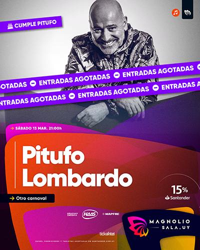 Pitufo Lombardo - Otro carnaval en Magnolio Sala