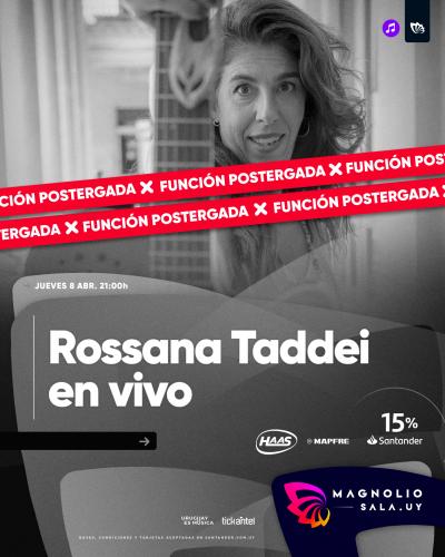 Rossana Taddei en vivo - - en Magnolio Sala