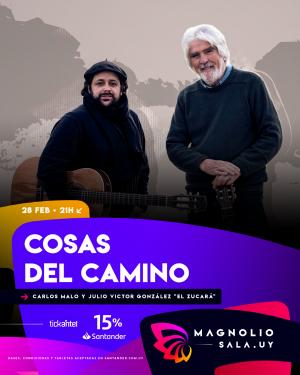 Carlos Malo y El Zucará VIE 28 FEB - 21:00h en Magnolio Sala