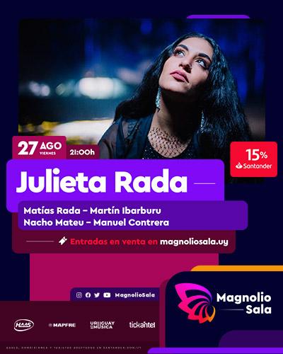 Julieta Rada - Matías Rada - Martín Ibarburu - Nacho Mateu - Manuel Contrera en Magnolio Sala
