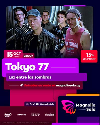 Tokyo 77 - Luz entre las sombras en Magnolio Sala