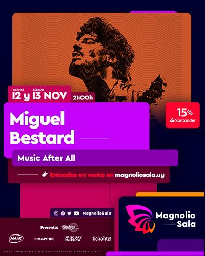 Miguel Bestard - Music After All en Magnolio Sala