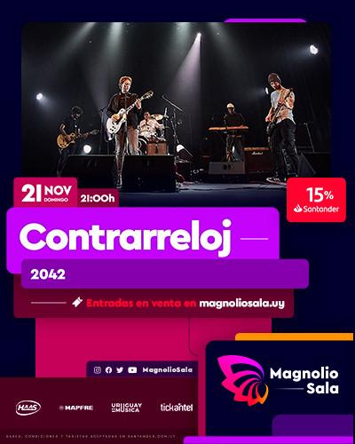 Contrarreloj - 2042 en Magnolio Sala