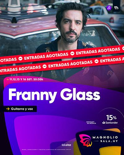 Franny Glass - Guitarra y voz en Magnolio Sala