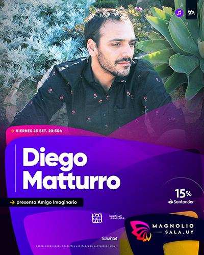 Diego Matturro - presenta Amigo Imaginario en Magnolio Sala