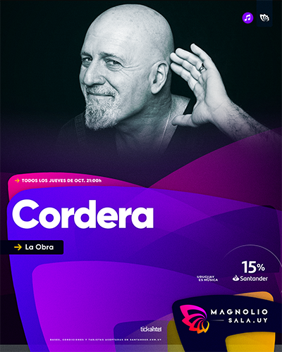 Cordera - La Obra en Magnolio Sala