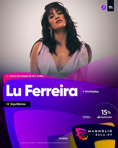 Lu Ferreira - Equilibrios en Magnolio Sala